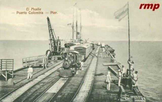 Se Inaugura el Muelle de Puerto Colombia