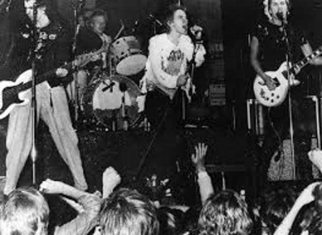 La primera presentación de los Sex Pistols