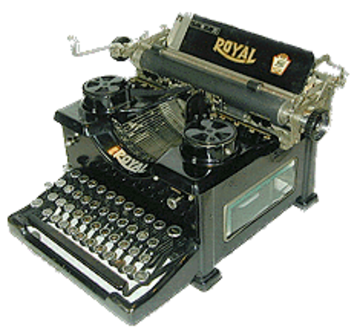 Invention of the First practical typewriter