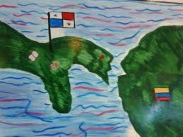 Panamá se separa de Colombia