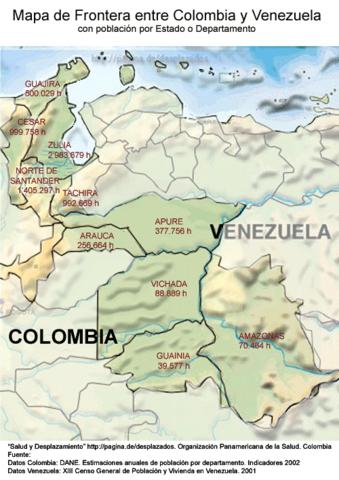Tratado de Fronteras Colombo Venezolanas