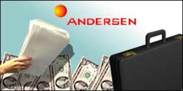 El fin de Andersen (compañía auditora)