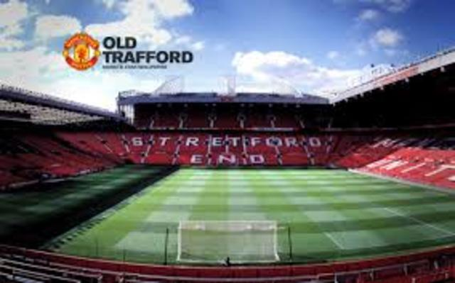 Old Trafford was built