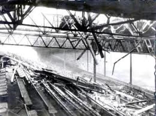 Bombing of Old Trafford WW2