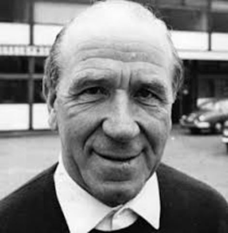 Appointment of Matt Busby