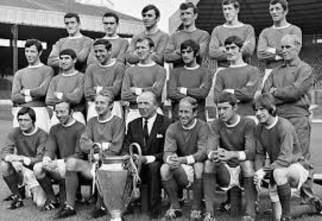 1968 UEFA Champions League Winners