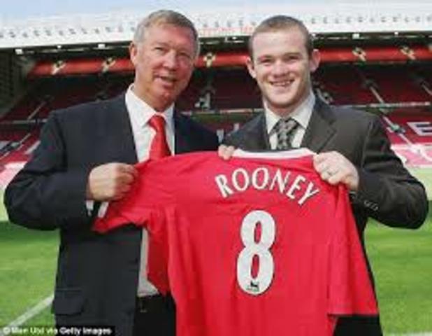 Signing of Wayne Rooney