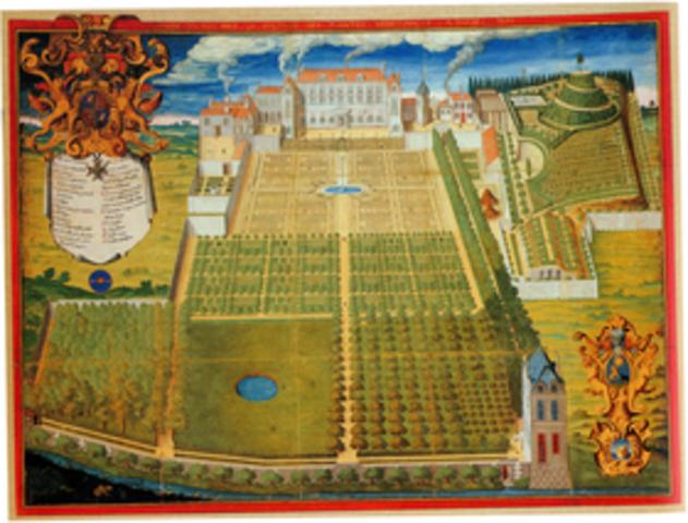 Jardín del Rey en París