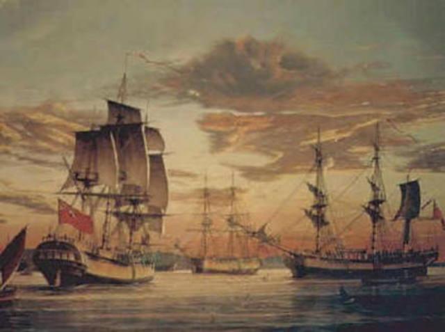 24.1.1787-The First Fleet set out to Australia