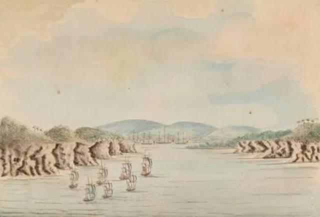 18.1.1788-Arrival at Botany Bay