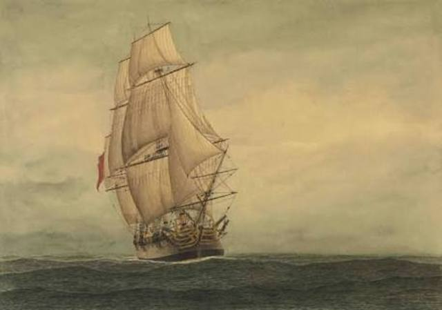 21.1.1788-Captain Arthur Phillip's first expedition