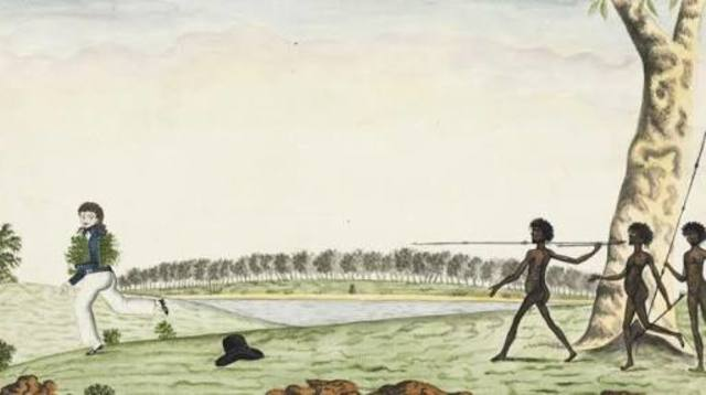 1.1.1790-The Eora people attacked