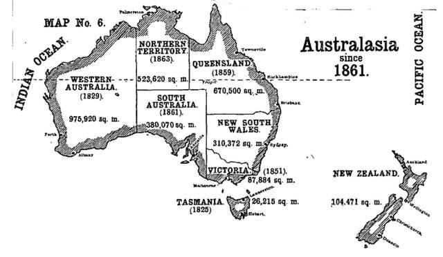 10/10/1861 Australia's Borders Finalised