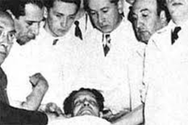 Asesinado Jorge Eliécer Gaitán