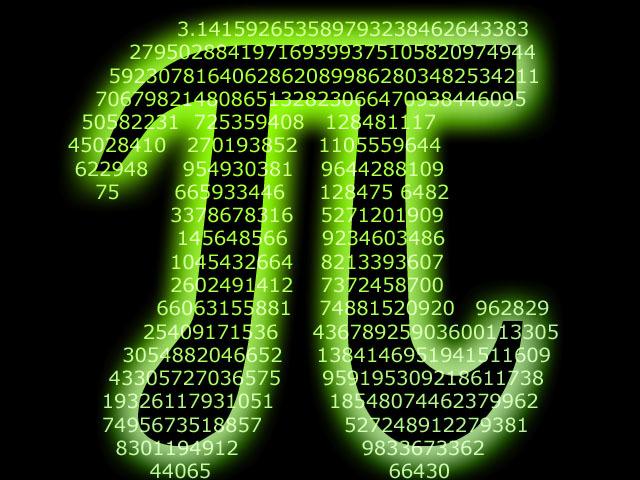 El Número Pi con 1,24 Billones de Dígitos