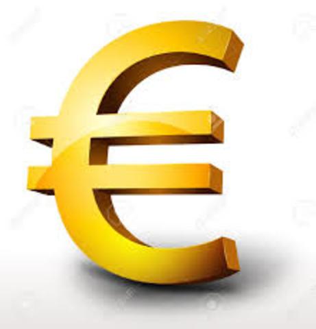 Entrada en circulación del Euro