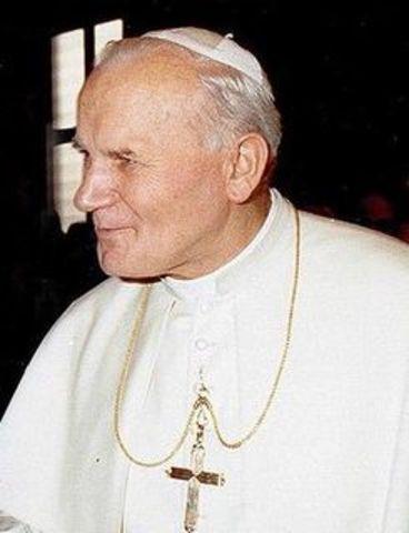 Fallece Juan Pablo II