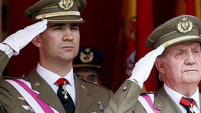 Abdicación rey de España