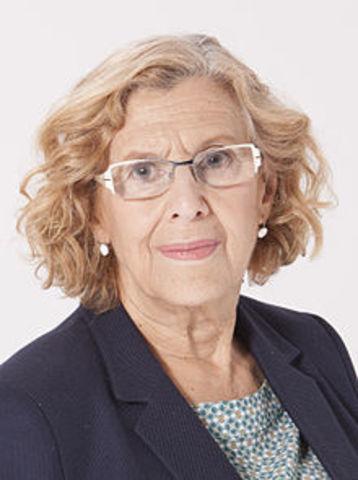 Manuela Carmena alcaldesa de Madrid