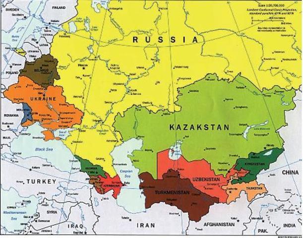 Desintegración de la URSS