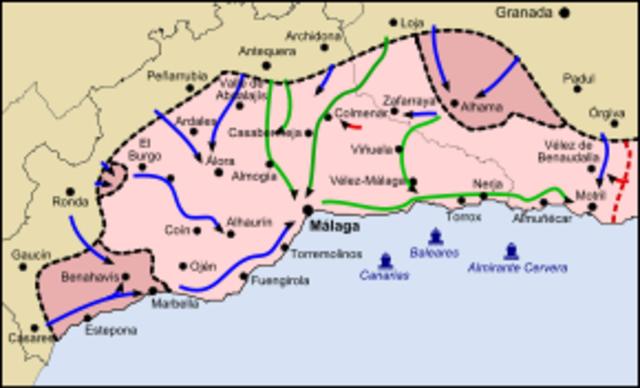 Batalla de Málaga (Victoria de los Sublevados)