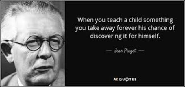One of the most influential cognitive psychologist (Jean Piaget)
