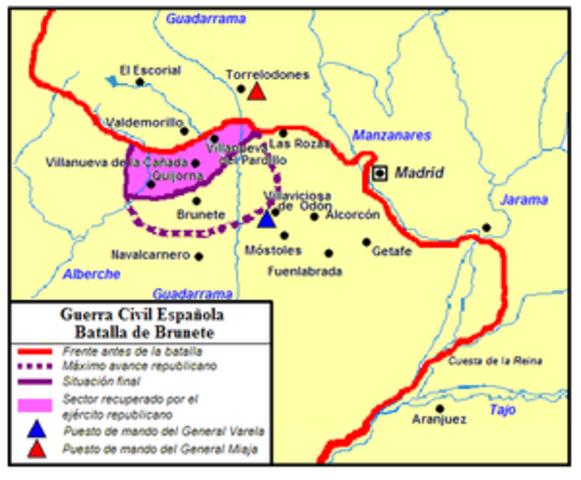 Batalla de Brunete (Victoria de los Sublevados)