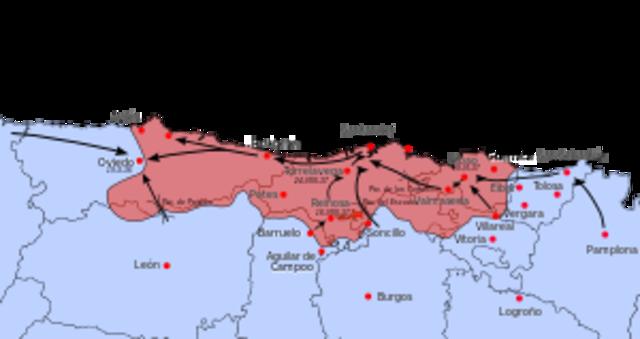 Ofensiva de Asturias (Victoria de los Sublevados)