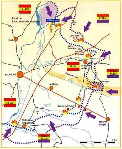 Batalla de Balaguer (Victoria de los Sublevados)