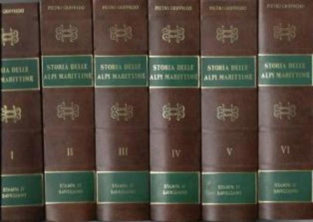 Livro Storia delle Alpi Maritime, em Turim