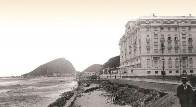 Inauguração do Hotel Copacabana Palace no Rio de Janeiro