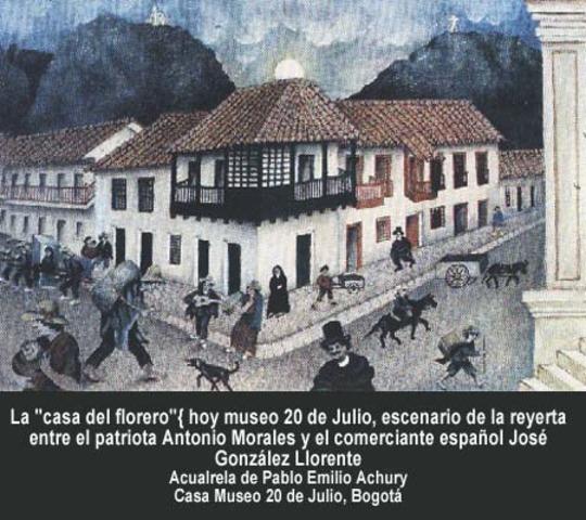 Grito de independencia de Colombia