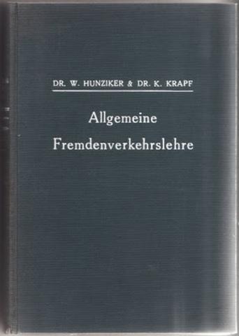 INTERPRETAÇÕES DO TURISMO - Hunziker e Krapf
