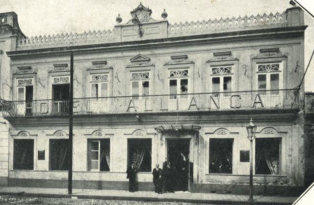 Surgimento do primeiro hotel de Pelotas - Hotel D'Aliança