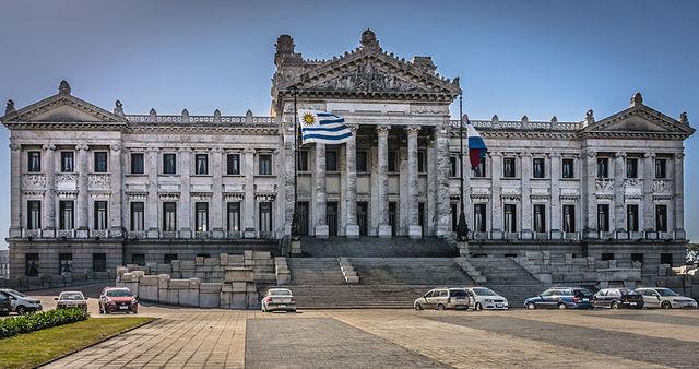 Inauguração do Palácio Legislativo de Montevideo