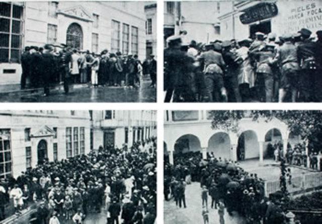 Crisis de los años de 1922 y 1923