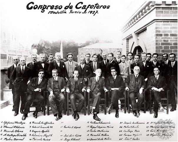 Fundacion de la Federación Nacional de Cafeteros