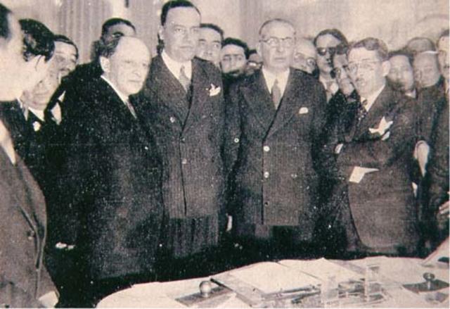 Esfera política (1935-1945)