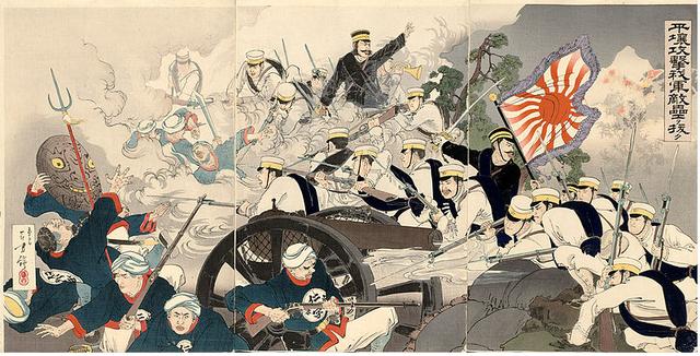 Comienza la guerra Chino-Japonesa