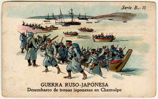 Termina la guerra Ruso-Japonesa con el triunfo de Japón