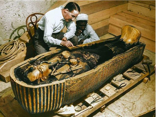 Se descubre la tumba de Tutankamon