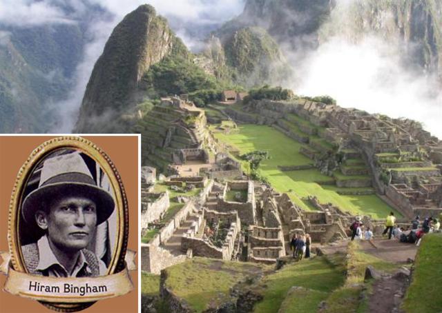 Hiram Bingham descubre Machu Pichu