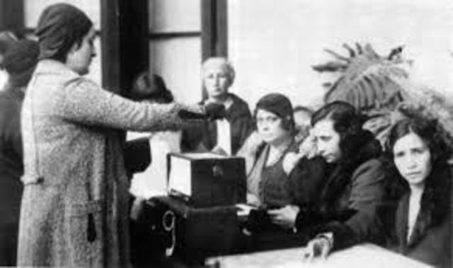 Ley de Voto Femenino.