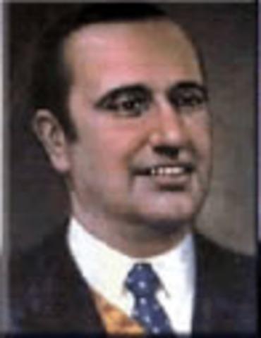 Es elegido presidente Misael Pastrana