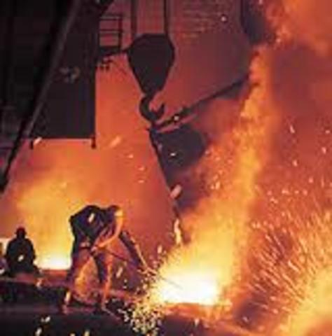 Création de l'Union des industries métallurgiques et minières (UIMM)