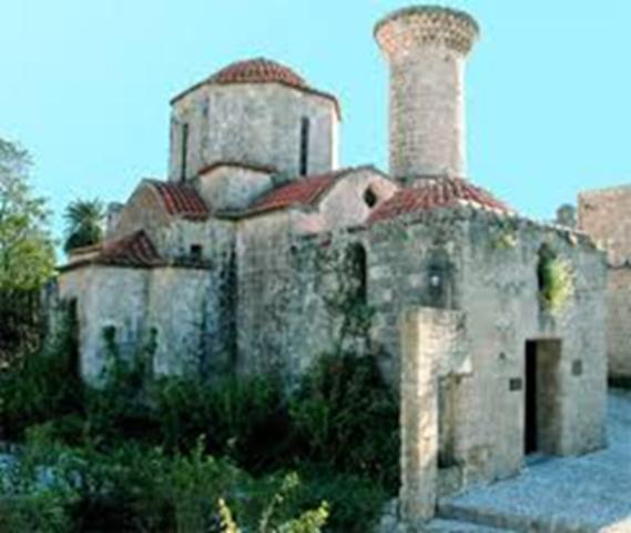 Greece, Rhodes:Roman period, Byzantine period