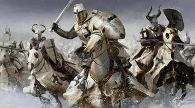 Poland, Pobiedziska, destruction by the Teutonic Knights