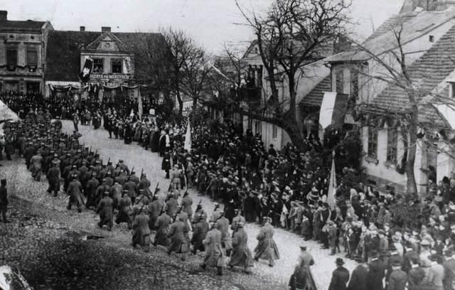 Poland, Pobiedziska,  Uprising again Germans