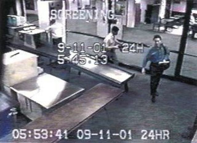 5:45 AM- Hijackers pass through security screening in Portland, Maine