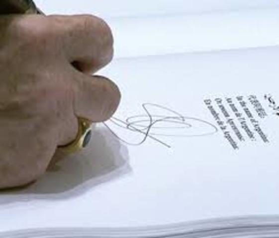 Firma Acuerdo Marco entre la SG/OEA y el Gobierno de Guatemala